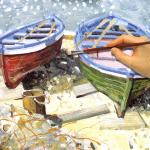 рисунок масляными красками
