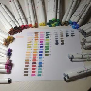 как выбрать маркеры - выкраска