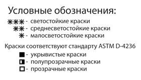 условные обозначения акварель