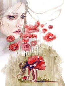 иллюстрация акварелью Дима Ребус