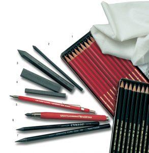 виды графитных карандашей